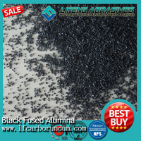 For fiber wheels use black fused alumina FEPA grits