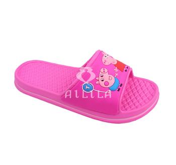 43346c33c2 Latest Cartoon Pig Kids Girls Eva Slippers And Sandals - Buy Latest ...