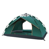 Lightweight Outdoor Fibreglass Backpacking Large Family Waterproof Folding Military Automatic pop up Beach Hiking Camping Tent