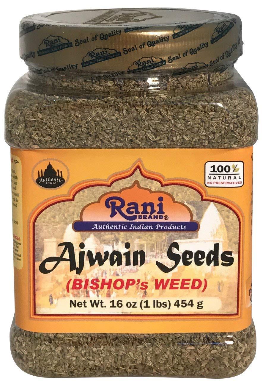 Rani Ajwain Seeds (Carom Bishops Weed) Spice Whole 16oz (454g)