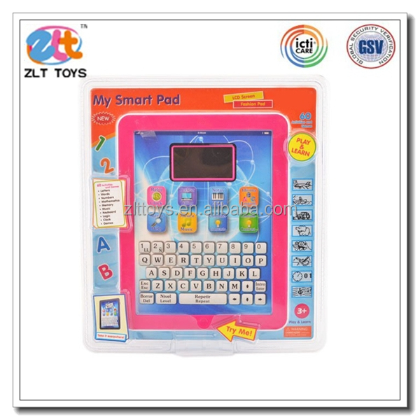 Children plastic learning tablet toy education ipad toy