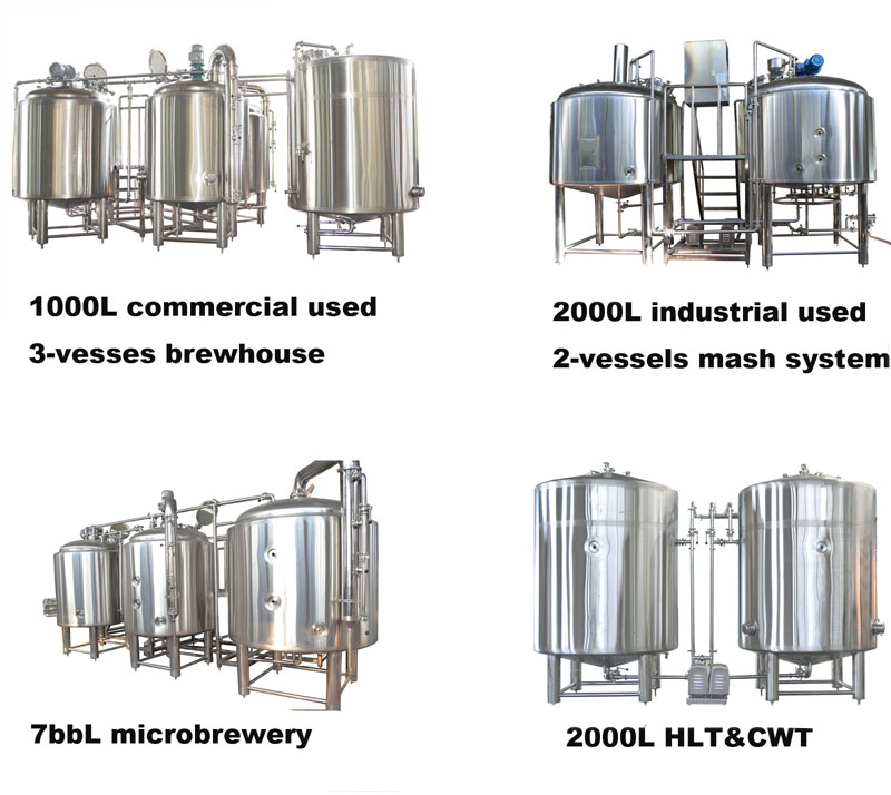 300L red copper beer brewing equipment microbrewery system for brewpubs / bar