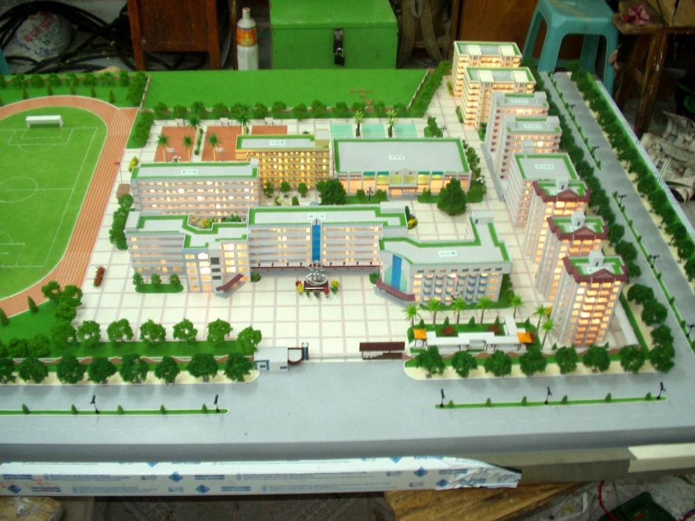 New Product 3d Design School Project Miniature Model
