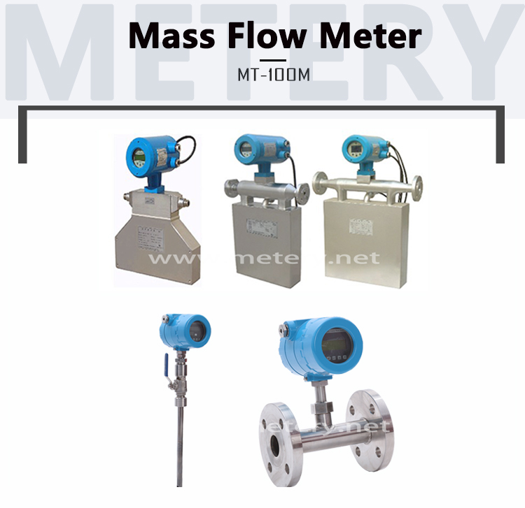 Industrial LCD Display liquid mass flow meter