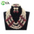 latest design african beads jewelry sets nigeria beads necklace AN107-6