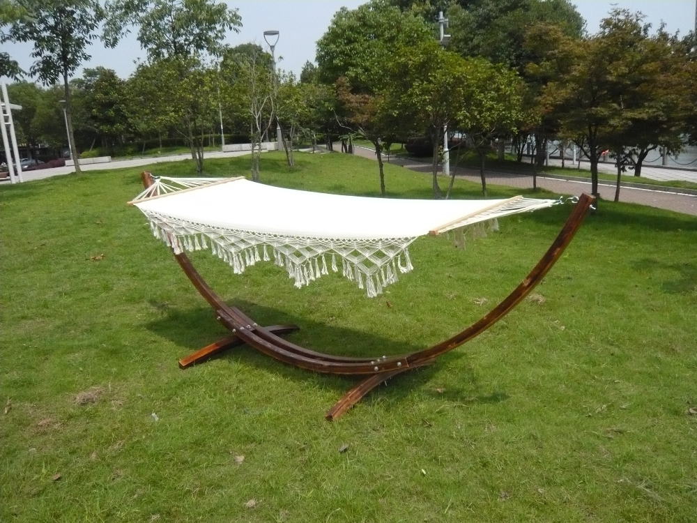 Wooden Curved Arc Hammock Stand Free Standing Cheap Hammocks
