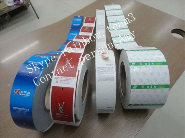 Custom Battery Shrink Wrap Pvc Tube Packaging Wrap Printed Heat ...