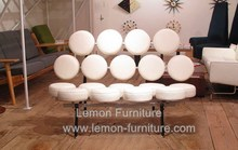 foshan furniture leather Popular top sell fashion settee sofa