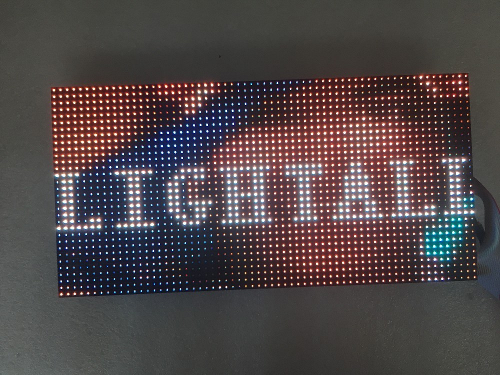 P4mm 256 128mm Full Color Smd Rgb Led Wall Screen Module