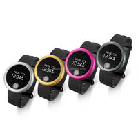 Heart Rate Smart Watch With Bluetooth 4.0 Waterproof IP66 Wireless Activity Pedometer Bracelet