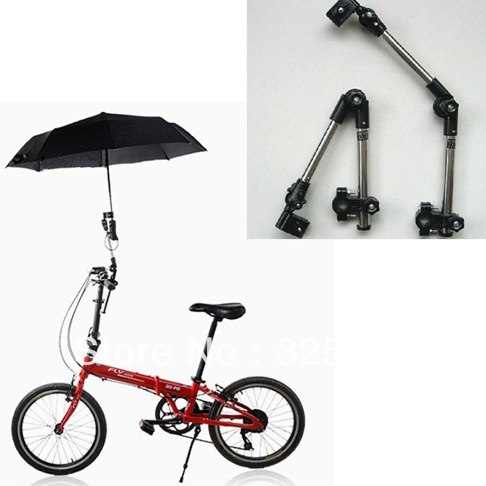 Good quality custom straight outdoor folding bicycle umbrella