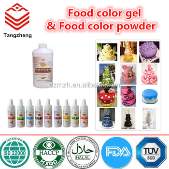 15 Colors Food Color Gel & Food Color Powder Available Cake Baking Tools  Fondant Pigment Color For Cake Decoration - Buy Food Color,Food Color ...