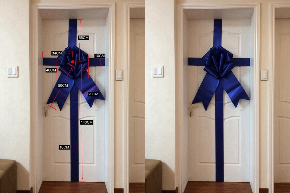 Manufacturer three color ribbon pull bows giant door bows & Manufacturer Three Color Ribbon Pull Bows Giant Door Bows - Buy ... pezcame.com
