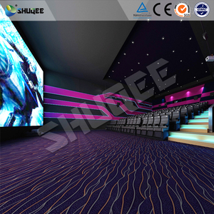 Unique Entertainment 4D Movie Theater With Electronic Motion Seats