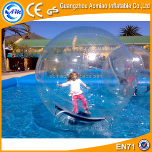 0.7mmTPU walk in plastic ball / big water ball / growing water balls for sale