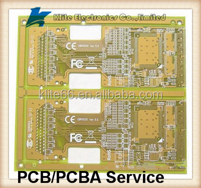 China Double Sided PCB - Gold Lead Free Red Color - China PCB, Multilayer PCB_