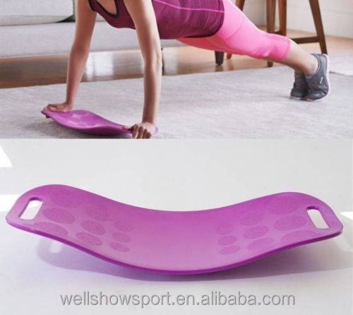 Wellshow Sport Fit Board - The Abs Legs Core Workout Balance Board with A Twist As Seen on TV