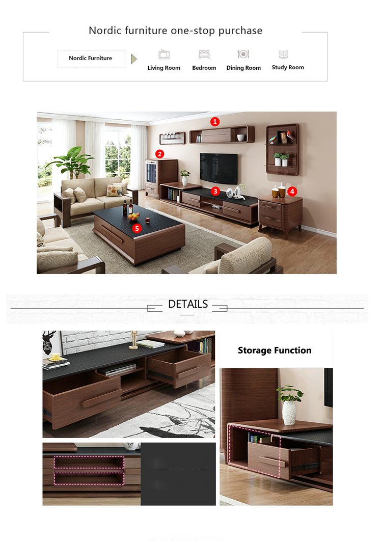 Modern Design Wooden Led Tv Cabinet With Showcase Living Room Cabinet Wall  Units Lcd Tv Cabinet Part 42
