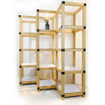 Creative PAPER Tube Making Bookcase Book Rack And Bookshelf