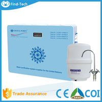 5 stages alkaline mineral ro water purification machine price/ under sink reverse osmosis drinking water system