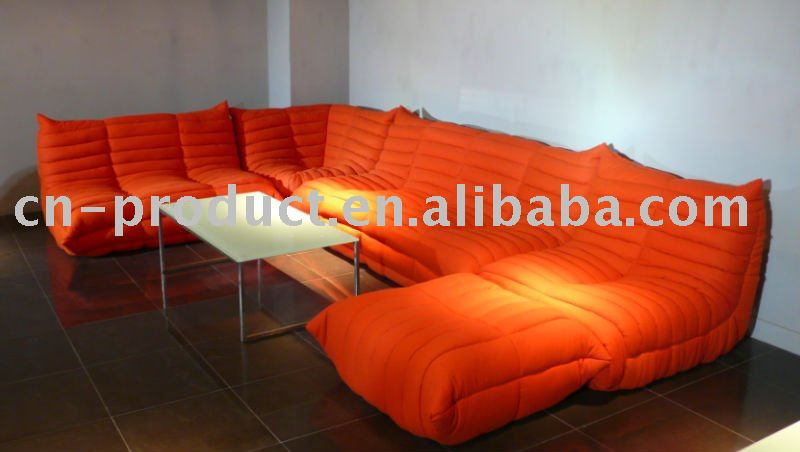 Superieur Classical Orange Togo Sofa   Buy Modern Classical Orange Fabric Togo Sofa, Orange Sectional Togo Sofa,Orange Modern Classic Togo Sofa Product On  Alibaba.com