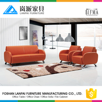 2017 latest design sofa set leather sectional office sofa manufacturers from Foshan