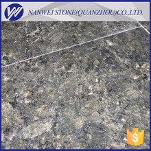 HOT SALING China polished straight edge of butterfly green granite roof and vanity countertops and tiles stone slabs SAIE