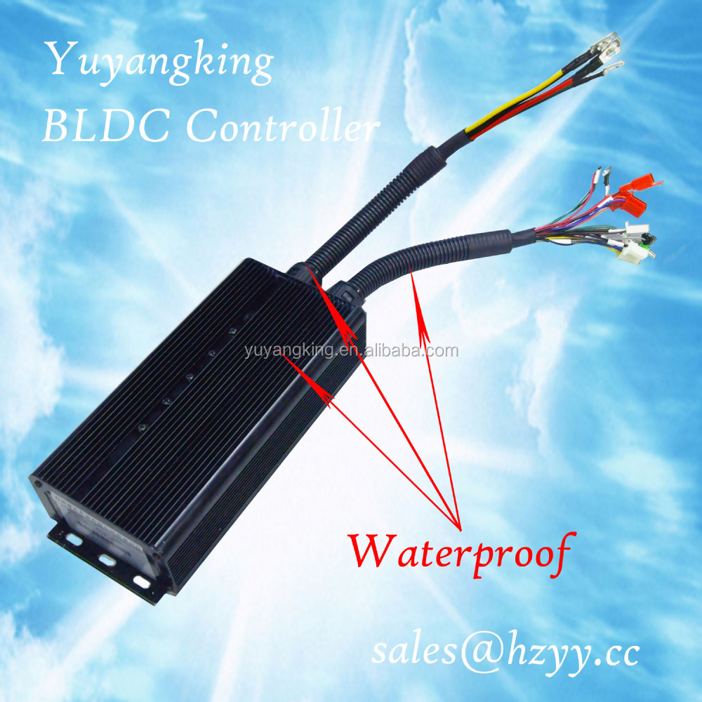 High quality brushless dc motor controller 48v for electric vehicles