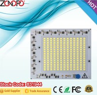 30w 50w 100w 150w 110v 220v input voltage constant current driver and LED together dimmable square outdoor flood light ac light