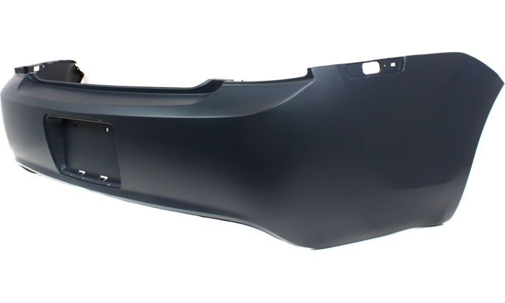 New Evan-Fischer EVA17872016891 Rear BUMPER COVER Primed Direct Fit OE REPLACEMENT for 2008-2012 Chevrolet Malibu *Replaces Partslink GM1100816