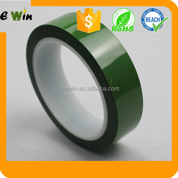 Heat resistant masking Green Polyester tape