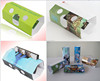 Gift card stereo viewer 3d card, customized logo stereo viewer 3d card glasses