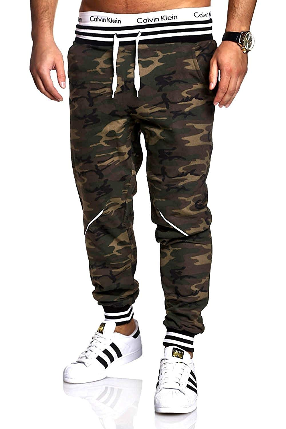 0fad1a70492 Get Quotations · Jongood Trendy Men Pants Hip Hop Harem Joggers Pants Mens  Joggers Solid Pants Sweatpants Large Size