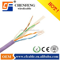 UTP Patch Cable/CAT5e 4pr 24AWG networking cable