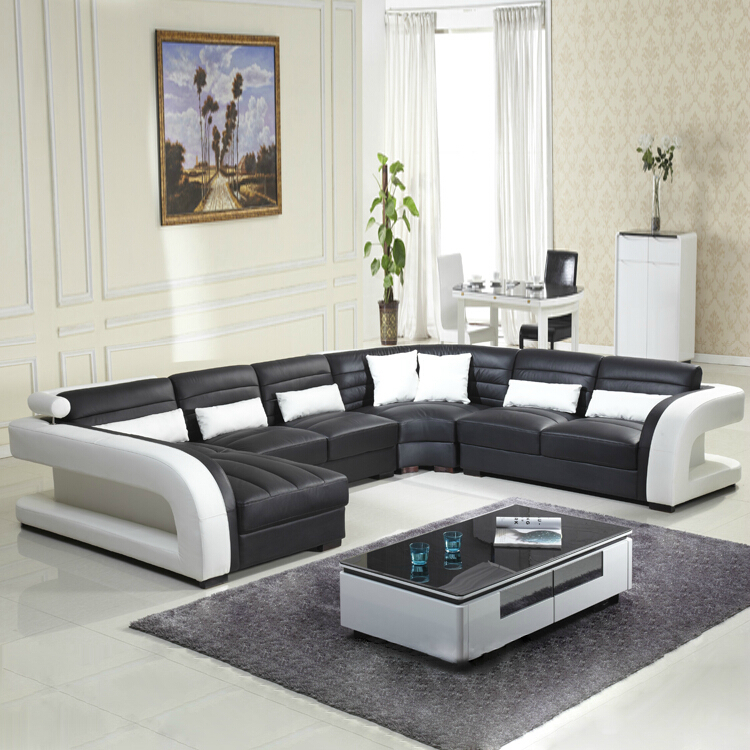 2016 New Style Modern Sofa Hot Sales Genuine Leather Sofa