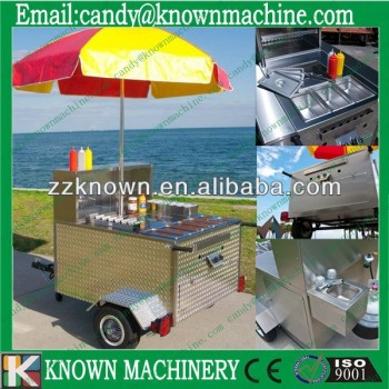 American style mobile hot dog cart hot dog cart for sale - American style mobel ...
