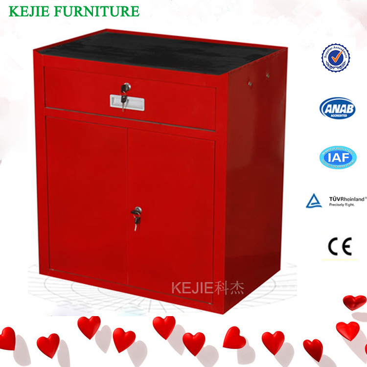 US TOOL CHEST CABINET TOOL BOX RED SIDE CABINET HANG ON LOCKER ...