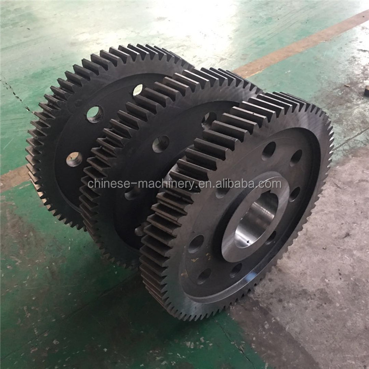Manufacturer Customized High Precision Forged 8620 Alloy Steel Large Spur Gear with Good Price