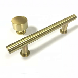 Brass/copper unique furniture handle designer knurling furniture/Cabinet handle