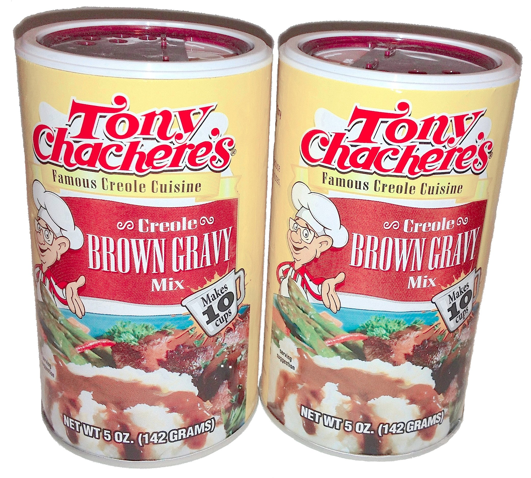 Tony Chachere's Creole Brown Gravy Mix, 5 oz (2 pack)