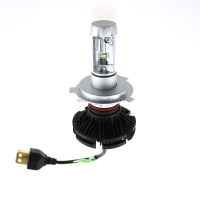 Super powerful car headlight car X3 LED headlight h4 9006, all in one 50W 6000LM, fanless High quality, defective less than 0.1%