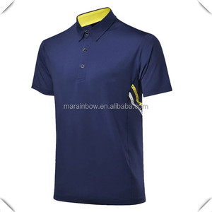 custom dry fit 100% polyester spandex mens polo golf t shirt trendy design popular in 2016