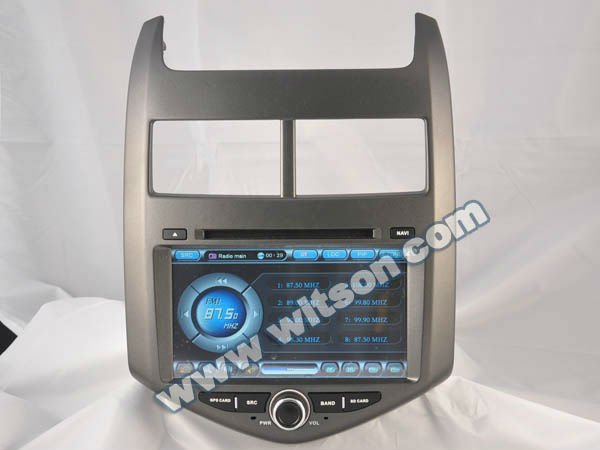WITSON 2012 CHEVROLET AVEO NAVIGATION DVD High Quality with SD card for Music and Movie