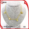 online shop china accessories for women letter wedding gold necklace designs