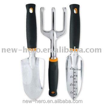 3 Piece Aluminium Garden Tool Set