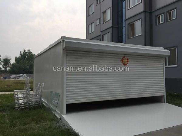 CANAM-prefabricated modular earthquake woode recycled prefab bungalow storage
