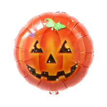 Wholesale Promotional Inflatable Big Round Metallic Balloons For Halloween