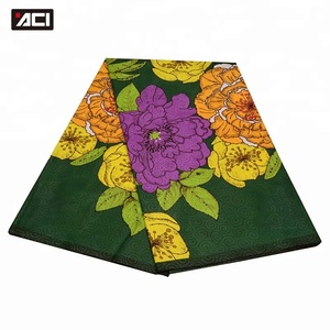 ACI Top Brand Best Selling Ankara Fabric Wholesale 6 Yards Veritable Super Wax Hollandais 100% Polyester Dutch Wax Java Print