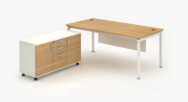 High Quality Modern Office Furniture Steel Wood Office Table