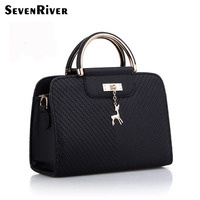 Fashion Ladies Tote Bag PU Leather Handbag for Women
